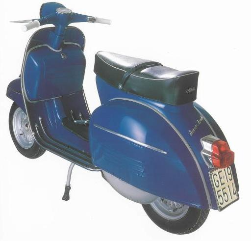 lebih dekat vespa 180 super sport 1965 ekobanana. Black Bedroom Furniture Sets. Home Design Ideas